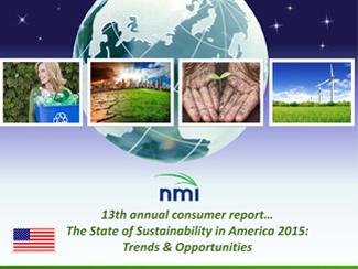 The State of Sustainability in America 2015: Trends & Opportunities