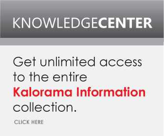 Get unlimited access to the entire Kalorama Information collection.